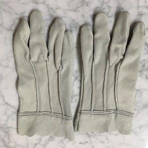 NWOT VINTAGE Buckskin Gloves Deer Skin Sta-Soft
